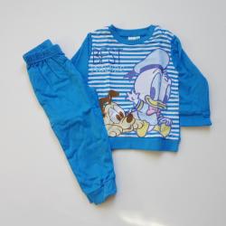 Donald duck baby pyjama donkerblauw