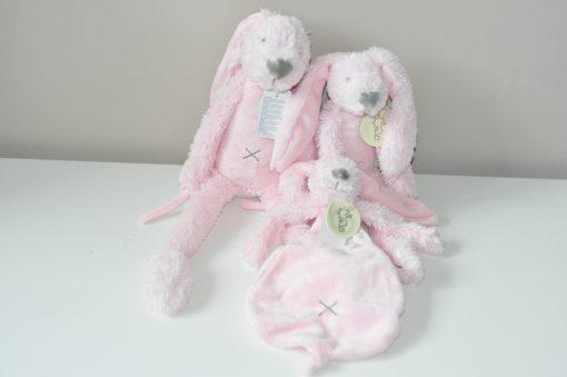 happy horse knuffels roze