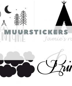 Muurstickers en decoratie stickers