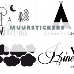 Muurstickers en decoratie stickers