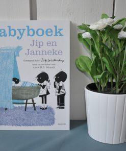 Baby invulboek Jip en Janneke blauw