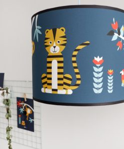 Lamp Jungle donker blauw