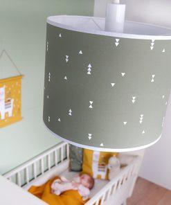 Lamp basic Olijf groen