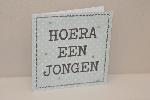 wenskaart_hoera_een_jongen