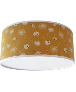 Plafondlamp_Pluisbloem oker
