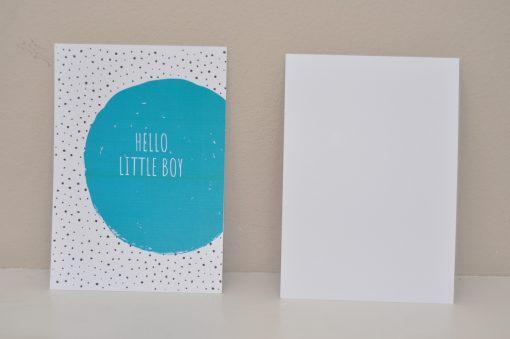 kaart_hello_little_boy