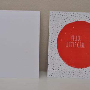 kaart_hello_little_girl