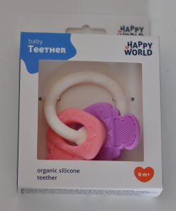 baby teether bijtring johntoy
