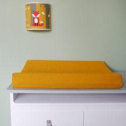 Aankleedhoes Wafelstof Basic oker geel