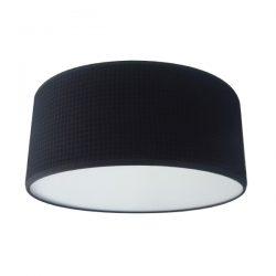 Plafondlamp Wafelstof zwart