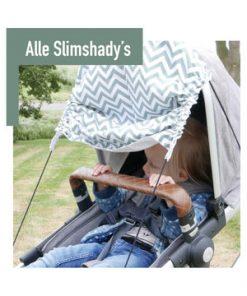Slim shady zonnedoek