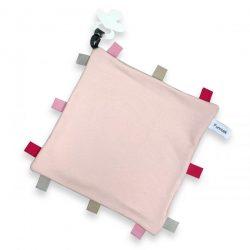 Labeldoekje speen blush roze