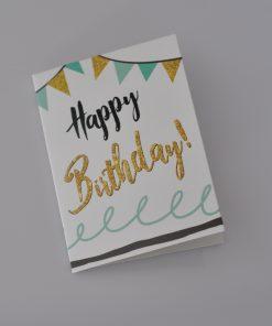 cadeaukaartje Happy birthday