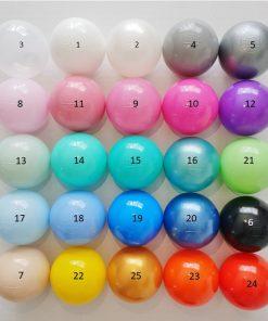 ballen met nummers