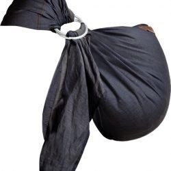 ByKay draagdoek Ringsling Dark Jeans junior 200 cm