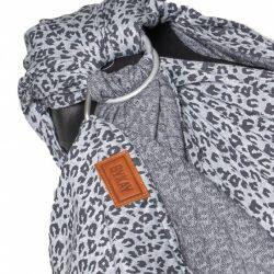 ByKay draagdoek Ringsling Grey Leopard junior 200 cm