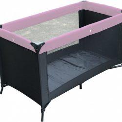 Kekk campingbedje zwart/roze