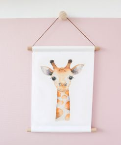 textielposter_giraf