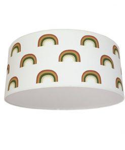 plafondlamp regenboog groen_bruintint