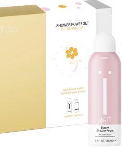 Naïf natuurlijke Shower Power giftset - geschenkverpakking